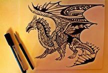 Рисуя крылатый силуэт