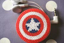 Beads earbud holder
