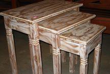 Patina em madeira