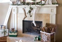 Christmas Mantels / by Vicki Fort