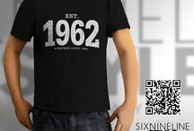 History Shirts by sixnineline style / sixnineline style Berlin | Clothing Design - T-Shirts, Hoodies, Polo-Shirts, Pullover, Girlie-Shirts, Bags ........