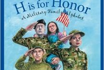 Books for Military Kids / Books, actgivity books, and a journal for kids dealing with saying goodbye, staying connected, and getting through deployment separations.