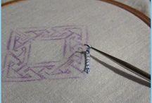 Tambour embroidery \  Тамбурная вышивка / О вышивке крючком (иглой).