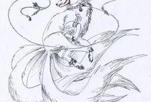Inari Kitsune Design