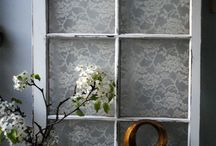 shabby windows