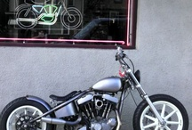 BOBBER AND CAFE RACERS