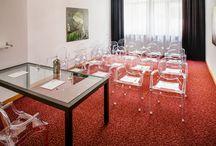 """Sala Congressi """"Tiziano"""" / Il centro congressi Da Vinci gode di un'ubicazione ideale per lo svolgimento di qualsiasi tipo di evento  Ideale per convegni ad elevata densità numerica, può ospitare Congressi , Seminari, Meeting, Sfilate di moda, Showcase di automobili, presentazioni di prodotti, serate di Gala, Matrimoni, banchetti, premiazioni, conferenze stampa, esposizioni e celebrazioni di ogni genere. Sala """"Tiziano"""": 30 mq; 7,50x4x3,40; Luce naturale"""