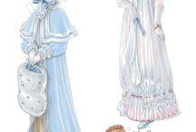 Paper dolls / by Debra Zimmermann Gauthier