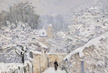 - Art - / Rembrandt, Monet, Sisley & others.