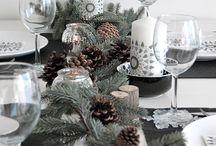Borddækning - jul
