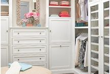 closet ideas / by Abbe Kelley