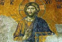 Byzantine Images of Jesus / Images of Jesus that were created during the time period which is known as Byzantine