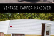 Vintage camping