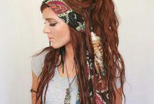 hair brade bohamian