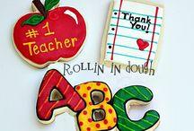 Decoracion de cookies Back to school