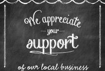 shop local/small