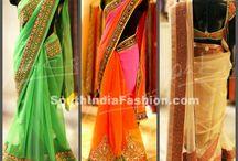 Designer sarees & lehngas / Designer creation