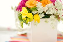 Flowers / Arranging and decorating with florals.