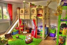 Bedrooms for Kids / Lots of ideas for kid's rooms!
