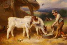 Рисунки домашних животных.