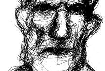 My art works / I miei lavori: disegni, schizzi, esercitazioni dal vero. Tecniche diverse e sperimentazioni