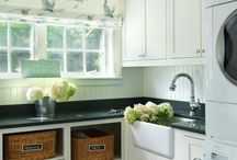 laundry room ideas / by Elaine Strathern