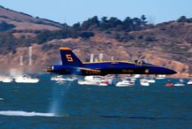 Aerial Demonstration Teams / The Blue Angels, The Thunderbirds / by Garry Hutchison