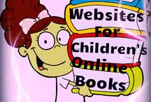 Online book readers for kids / by Jessica Streb Flannery