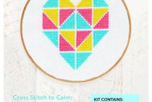 Cross stitch your way to better mental health