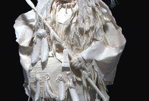 бумажные костюмы
