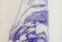 moje / kresby