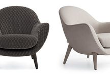 Mad Collection, designers Marcel Wanders / Always combining artisan skill and industrial high technology, Marcel Wanders joins Poliform once again to develop a collection of armchairs, small chairs and chaise longues with soft, sinuous shapes and an elegant image.