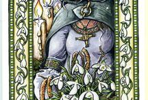 Imbolc / Imbolc, or Candlemas is a Pagan Sabbat marking the first stirrings of mother earth. Northern hemisphere is February 2nd, Southern hemisphere August 2nd. Ideas for ritual, altar decoration and celebrating Imbolc!