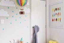 Rosie rainbow bedroom