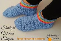 Crochet : Slippers