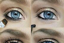 Make-up yeux bleus