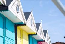 Millie's Beach Huts - our very own gorgeous each huts and interiors