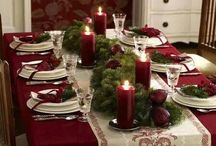 X'mas table / Mise en place