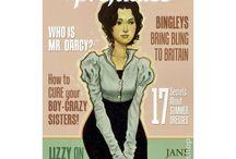 Jane Austen Land / by Violetta di Polaris