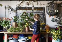 Florist Studio / See what's happening in the studio and out