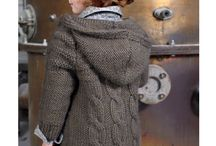 manteau tricot