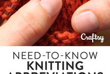 Knitting abbreviations