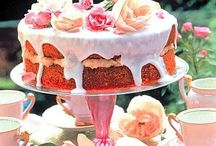 "Cakes, Shabby Chic Afternoon Tea / Cakes just right for Afternoon Tea - sweet and pretty without being over the top. Afternoon Tea is generally a small affair, with intimate friends and family. Some of these cakes would lend themselves well to larger Tea ""parties"" but there are lots of lovely celebration cakes for parties too on my ""Small Floral Cakes, Ruffles and Butterflies "" board."