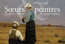 Elodie la Villette et Caroline Espinet / http://lespetitsmaitres.com/2014/09/la-peinture-en-partage/