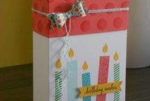 SU Gift Box Punch Board