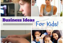 Kids Business Ideas / Hey! Kids love the idea of making their own money too! (And it might just help pay for their braces, college... wedding one day!) / by Kelly @MoneyMakingMommy