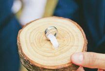 Suporte para aliança de casamento