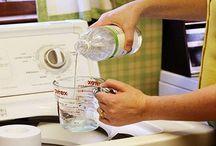 Usos del vinagre en limpieza de ropa