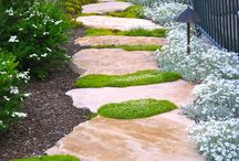 Paths . . . Entries / All different designs of paths in your back yard. Stone ones, grass paths, stair paths, unique paths. / by Back Yard Ideas