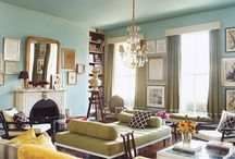Favorite Spaces.Gorgeous Rooms / this rooms, in their totality, make me swoon!
